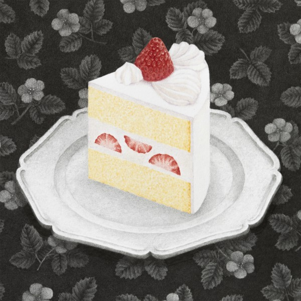 ケーキのある日(部分)