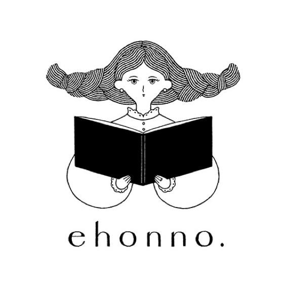 「ehonno.」様の新しいロゴマークを制作しました